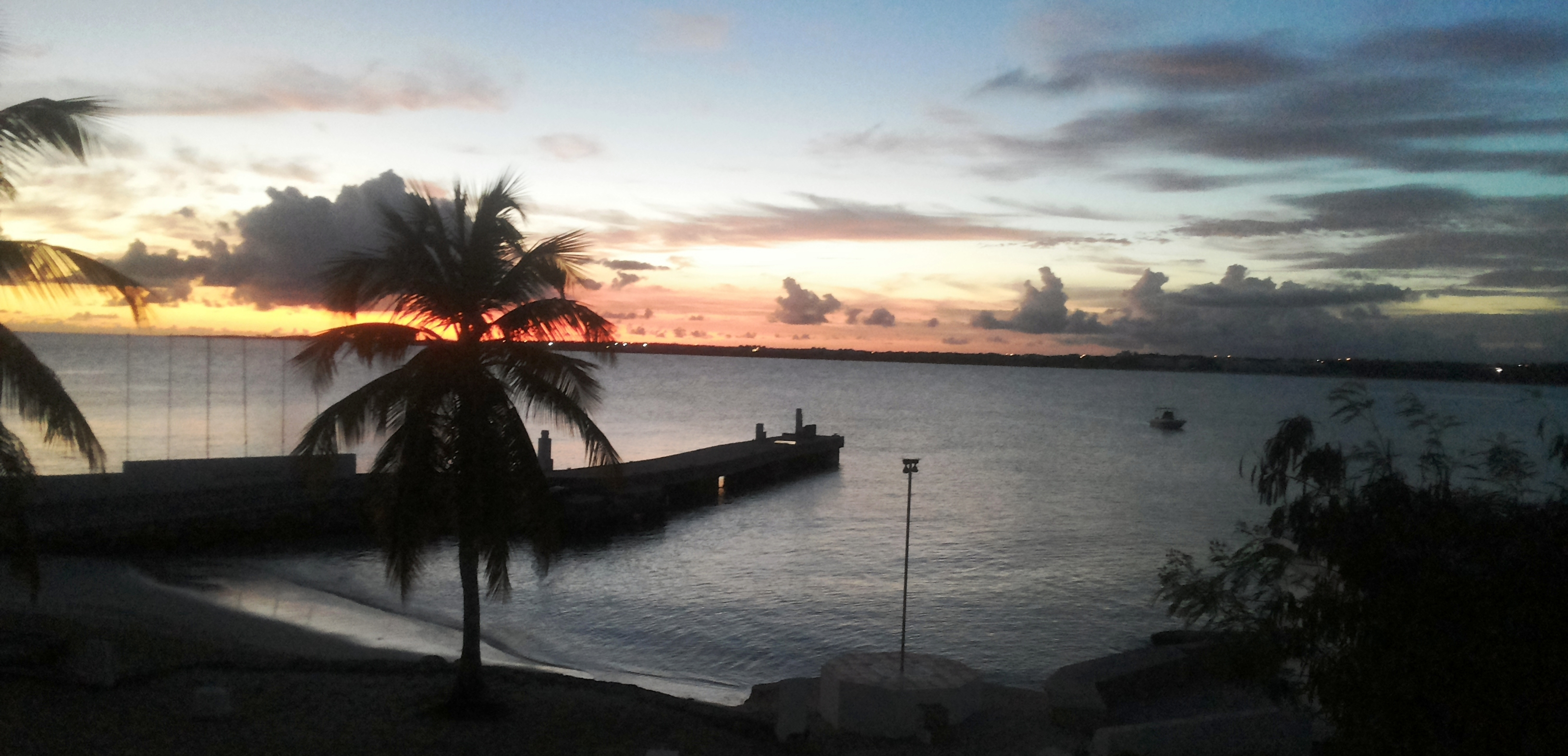 - Rosa Tiny Bay beach at sunset